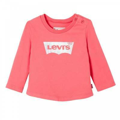 Levis Infants Basic Long Sleeve T-Shirt (Pink)