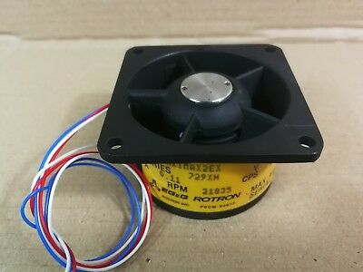EG&G Rotron Series 729XH 1/2 Aximax 2EXL Part No 027979 Vaneaxial Fan *