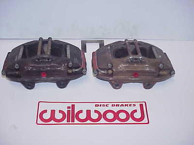 2 Wilwood 4 Piston Superlite Aluminum Brake Calipers L&R 120-5630 & 120-5631 R1