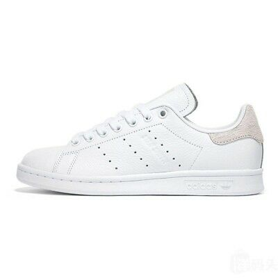 100% authentic 14215 e2024 ADIDAS STAN SMITH BLANC ROSE Baskets Femme White Pink Sneakers B41625