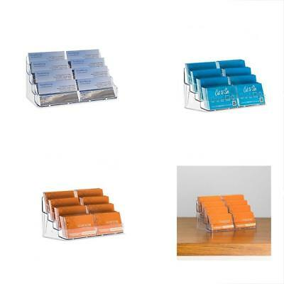 Source one 8 pocket clear business card holder acrylic rack stand source one 8 pocket clear business card holder acrylic rack stand desk display colourmoves