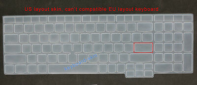 Keyboard Skin Cover Protector for IBM Lenovo ThinkPad T570 T580 E580 L580 P51s