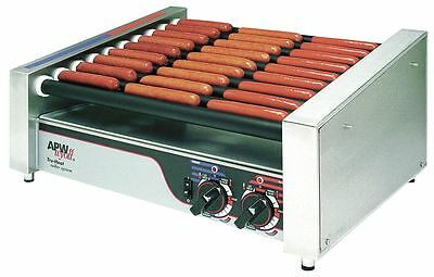 APW Wyott HRS-31S Hot Dog X*Pert Series Slanted Roller Grill