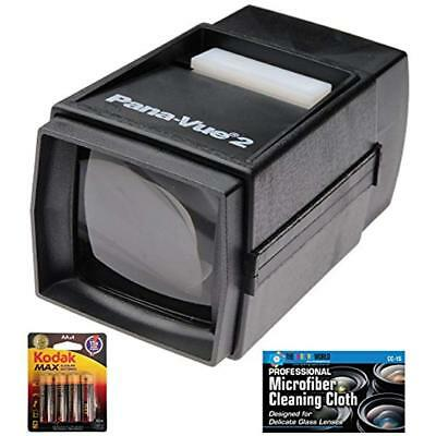 Pana Vue 2 Illuminated Slide Viewer Aa Batteries Microfiber Cleaning Cloth Gift