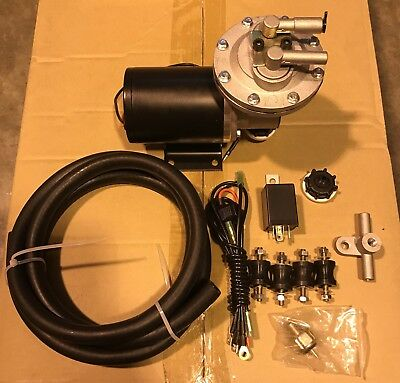 Universal Electric Vacuum Pump Kit 12v For Brakes