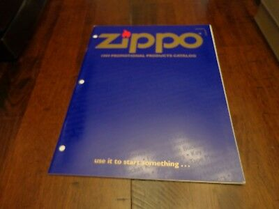 Full Size Promotional Products Zippo Lighter Catalog 1999 Unused