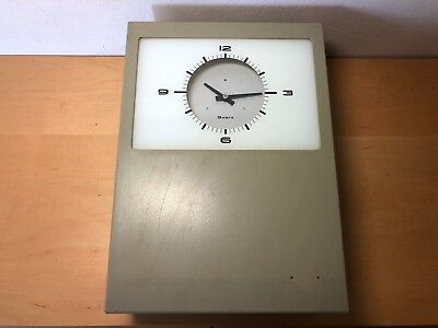 Usado - Rare - Industrial Wall Clock - Reloj de Pared Industrial - Quartz Cuarzo