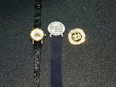 Longaberger Basket Sales Consultant WATCH BOOKMARK AND PIN SET - FREE SHIPPING