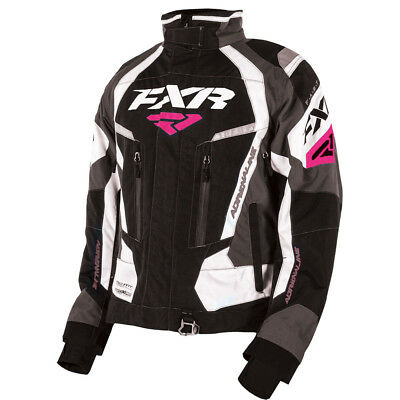 FXR - Adrenaline Black/Charcoal/White/Fuchsia Women Jacket - 14