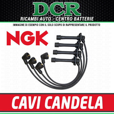 Kit cavi candele accensione NGK RC-FT1208 FIAT PANDA (169_) 1.2 60CV 44KW