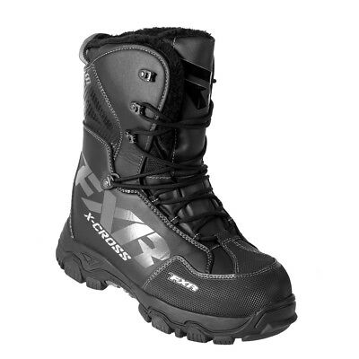 FXR - X-Cross Black OPS Boots - 9
