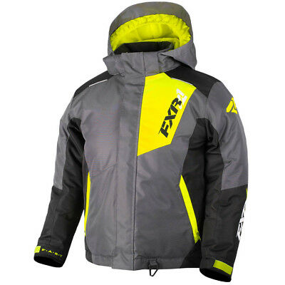 FXR - Squadron Charcoal/Black/Hi-Vis Youth Jacket - 10