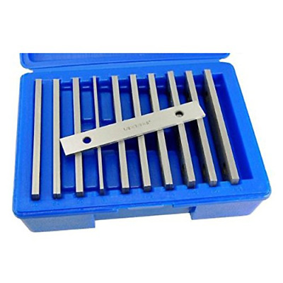 """Machinists Thin Parallel Bar Set - 10 Pair 1/8"""" X 6"""""""
