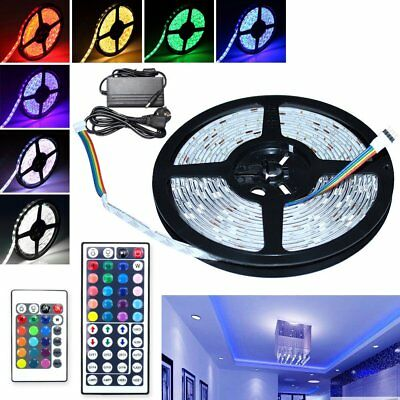 RGB LED Strip  60 / 30 LED  Stripe Bande Lumière Bande Lamps 24/44 key IR Remote