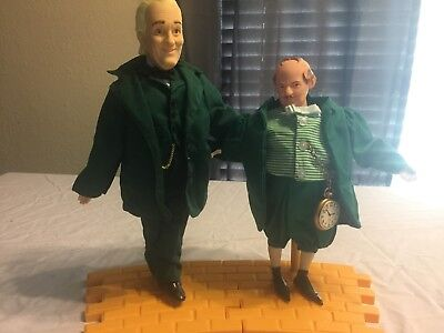 Wizards of Oz figures stands included Mayor and The Great Oz