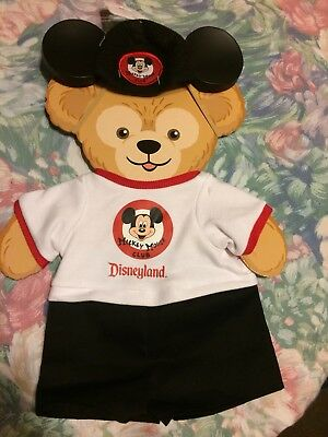 Disney Duffy Bear Mickey Mouse Club Costume Outfit