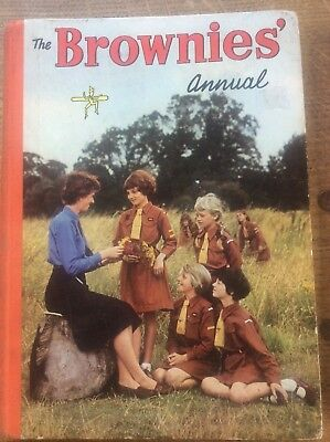 The Brownies Annual 1962 Purcell Thames Publishing Co Illustrated Jennetta  Vise