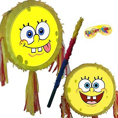 Spongebob emoji Pinata Smash Party Fun Birthday Squarepants under the sea Patric