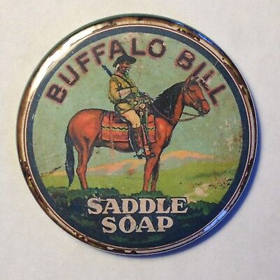 Buffalo Bill Cody Saddle Soap Fridge Magnet Vintage Style Buy 1 Get 1 FREE
