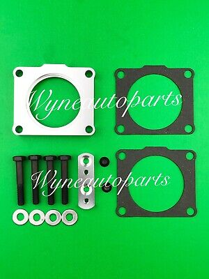 BILLET ALUMINUM RED Throttle Body Spacer For Nissan Xterra