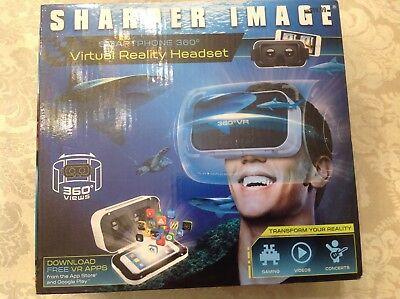 Sharper Image Smartphone 360 Virtual Reality Headset New In Box