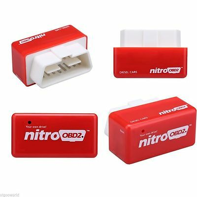 OBD2 Car Performance Tuning Chip Box Plug and Drive FITS Diesel Autos Fuel Saver