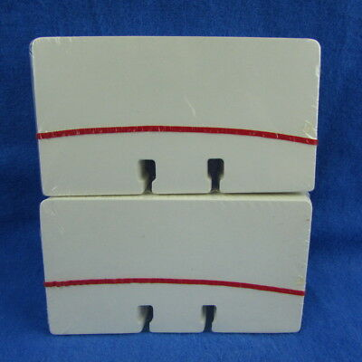 "200 Rolodex C24 Blank White Unruled Refill Cards 2.25"" x 4"" USA Desk Rotary File"