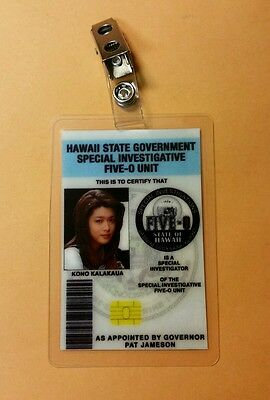 Hawaii Five-O ID Badge-Officer Kono Kalakawa