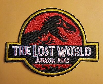 Jurassic Park The Lost World Patch 5 1/2 inches wide