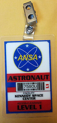Planet Of The Apes ID Badge -ANSA Astronaut Cosplay prop costume