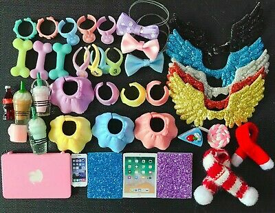Littlest Pet Shop Accessories Collars For LPS Collie Short Hair Cat Collections