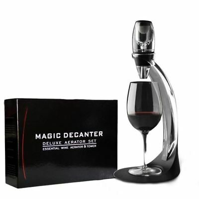 8x - Magic Decanter Deluxe Red Wine Aerator and Tower Set