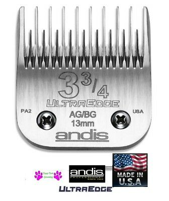 Andis Ag / A5 Ultraedge 3 3/4 Skip Tooth 13mm Hoja Fit Most Oster ,Wahl Alicates