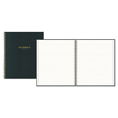 """Notebook, Ruled, 8"""" x 10"""", 80 Pages, Charcoal Black"""
