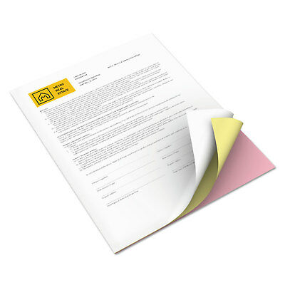 Revolution Digital Carbonless Paper, 8 1/2 x 11, Wh/Can/Pink, 2505 Sheets/CT