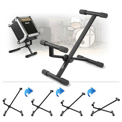 Guitar Amp Stand Adjustable Tilt Angle Folding Speaker Amplifier Floor Stand