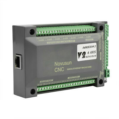 NVEM MACH3 CNC Controller 6 Axis Interface Ethernet Motion