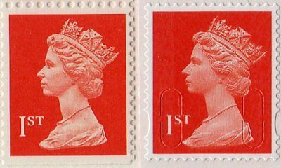 100 Off Paper, Unfranked First 1st Class Red Stamps no gum BEST CONDITION £28.99