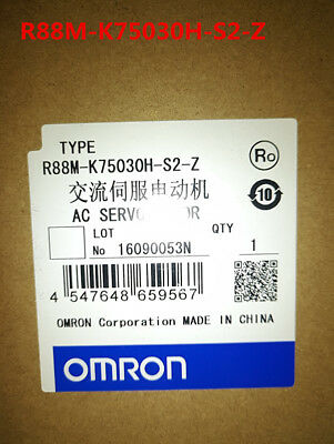 Omron R88M-K75030H-S2-Z New In Box