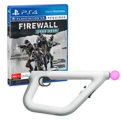 PS4 Firewall: Zero Hour PlayStation VR Aim Controller Bundle Tactical Edition