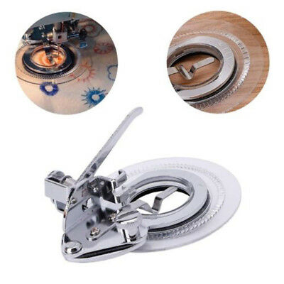 Alloy Fancy Flower Embroidery Round Stitch Presser Foot Sewing Machines Tool