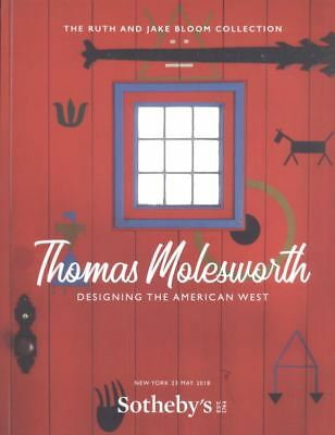 Sotheby's New York Thomas Molesworth American West Bloom Collection  HB