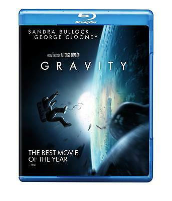 GRAVITY BluRay NEW / SEALED Clooney & Bullock £1.99 (Freepost/ fully guaranteed)