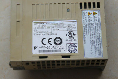 YASKAWA SGDS-04A12AY511 SGDS04A12AY511 used and  tested