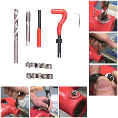 Thread Repair Insert Kit  Helicoil Type Car Tools  M4 M5 M6 M8 M10 M12 M14