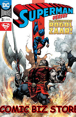 Superman #3 (2018) 1St Printing Main Cover Bagged & Boarded Dc Universe