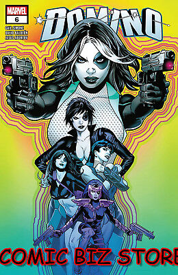 Domino #6 (2018) 1St Printing Bagged & Boarded Marvel Comics