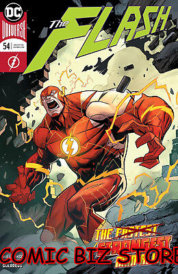 Flash #54 (2018) 1St Printing Dan Mora Main Cover Dc Universe Bagged & Boarded
