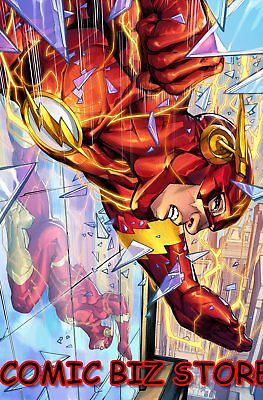 Flash #54 (2018) 1St Prining Porter Variant Cover Dc Uni Bagged & Boarded