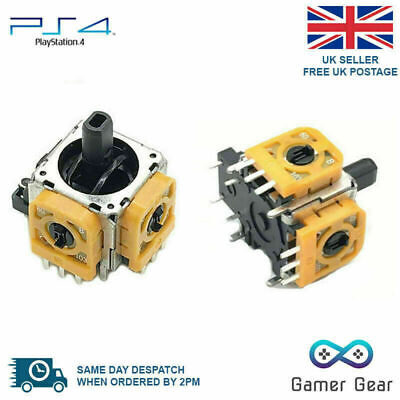 2 x PS4 Controller 3D Analog Joystick Rocker Replacement - New design!